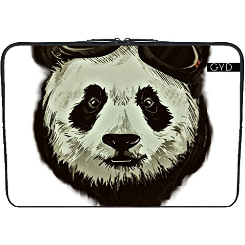 "Coperchio Neoprene Laptop Netbook PC 11.6 ""pollici - Pantaloni A Vita Bassa Orso Panda Asia by WonderfulDreamPicture"