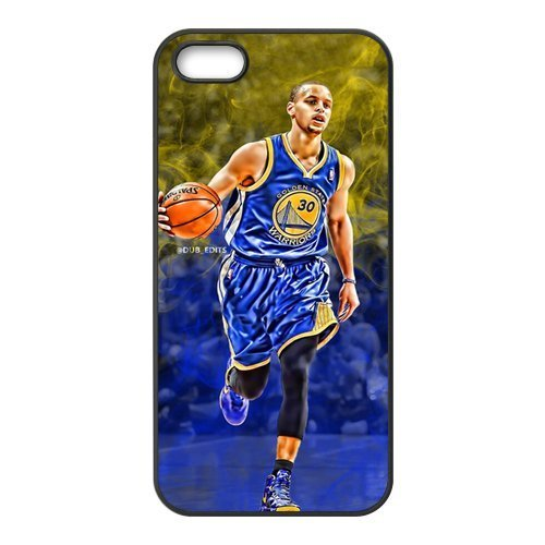Custom Stephen Curry Basketball Series Iphone 5,5S Case JN5S-1938