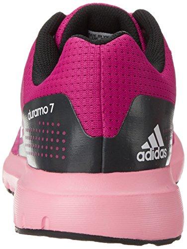 Adidas Performance Women's Duramo 7 W Women's Running Shoe, Pink/White/Pink, 9.5 M US