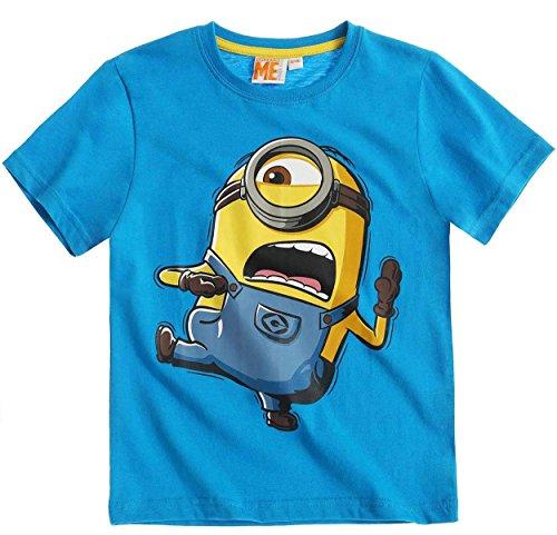 MINIONS -  T-shirt - ragazzo Blu blu