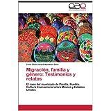 Migraci N, Familia y G Nero: Testimonios y Relatos: El caso del municipio de Piaxtla, Puebla. Cultura trasnacional...