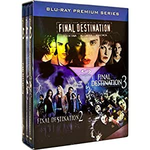 Final Destination Thrill-ogy (Final Destination 1, 2 & 3 / Destination Ultime: La Trilogie) [Blu-ray] (Sous-titres français) [Import]