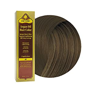 Amazon.com : One 'N Only Argan Oil Hair Color 6N Dark Natural Blonde