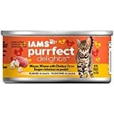 Iams Purrfect Delights Winner, Winner With Chicken Dinner Flaked In Sauce