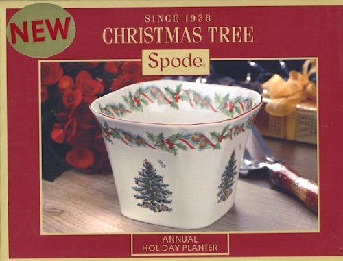 Spode Christmas Tree 2010 Annual Holiday Planter Spode Christmas Tree Annual