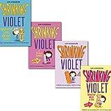 Lou Kuenzler Lou Kuenzler Shrinking Violet collection 4 Books Collection Set, (Shrinking Violet Absolutely Loves Ancient Egypt, Shrinking Violet, Shrinking Violet Definitely Needs A Dog and Shrinking Violet is Totally Famous)