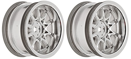 Ride Mini 10 Spoke Wheel, Wide Offset, Silver - 1