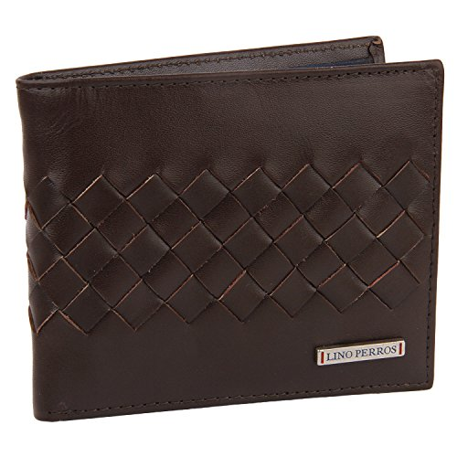 Lino Perros Brown Men's Wallet (LMWL00351BROWN)