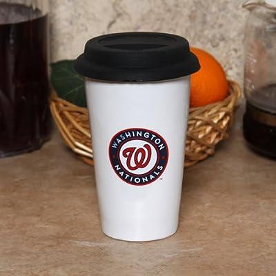 MLB Washington Nationals Logo Travel Mug