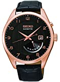 Seiko Men's SRN054 Analog Display Japanese Quartz Black Watch