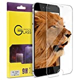 iphone 7 plus screen protector atgoin tempered glass 02mm 25dno bubble 9h hardness screen protector fit for apple iphone 7 plus  iphone 6 6s plus 55 clear
