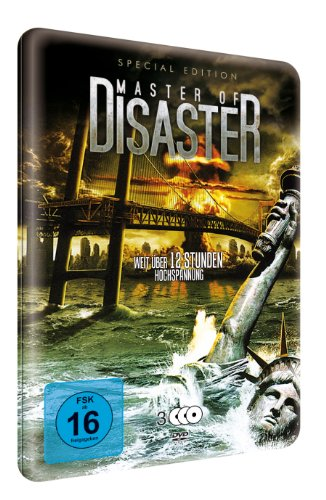 Master of Disaster (Special Edition Metallbox) (9 Filme) [3 DVDs]