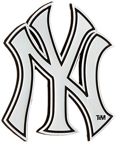 MLB New York Yankees Chrome Car Emblem