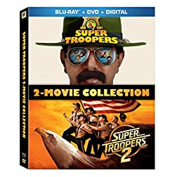 Super Troopers 1 & 2 Movie Collection [Blu-ray]