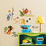 Disney The Lion King Wall Decal Cutouts 18x40