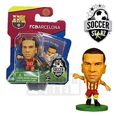 SoccerStarz FC Barcelona Dani Alves Limited Edition Away Kit [UK IMPORT]