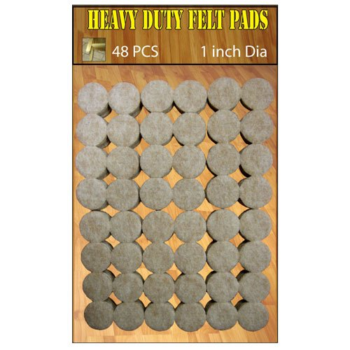 FELT PAD 1IN 48 PCS VALUE PACK