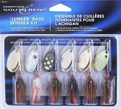 South Bend Fishing Lures Lunker Bass Kit