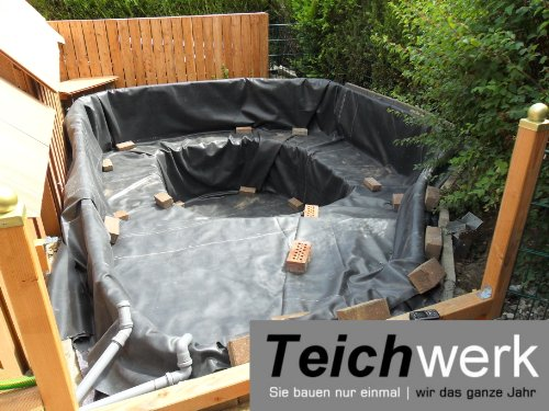 teich anlegen mit teichfolie oder teichbecken bei. Black Bedroom Furniture Sets. Home Design Ideas