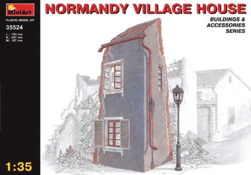 Mini Art Plastics Normandy Village House