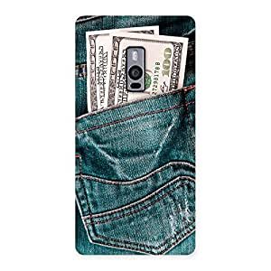 Special Dollars Jeans Back Case Cover for OnePlus Two