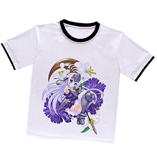 菊亭屋 これはゾンビですか? ユークリウッド・ヘルサイズ(Eucliwood Hellscythe)半袖 Tシャツ コスプレ道具・アニメ 仮装 コスチューム T00242-S