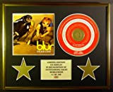 BLUR/CD DISPLAY/ LIMITED EDITION/COA/PARKLIFE