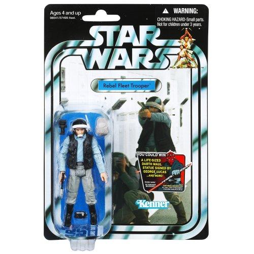 Imagen principal de Hasbro Star Wars Figuras vintage Rebel Blockade Trooper - Figura de la Guerra de las Galaxias (10 cm)