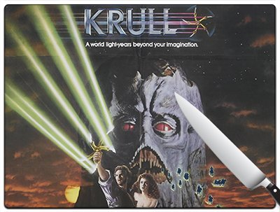 Movie Poster 37 - Krull Large Cutting Board
