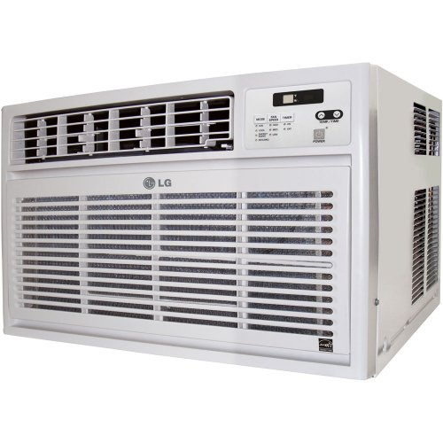 LG Energy Star 15,000 BTU Window Mounted Air Conditioner with Remote Control (115 volts)   LW1512ER