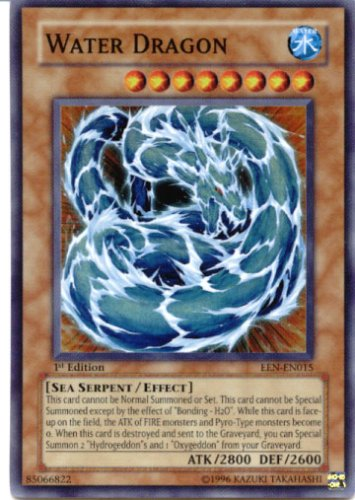 Buy Yu-Gi-Oh Gx Elemental Energy Foil Card Water Dragon Super Rare Card EEN-EN015