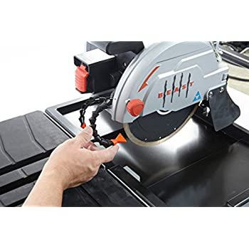 Lackmond BEAST7 - BEAST Professional 13 Amp Wet Tile Saw, 7