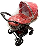 New Raincover For Bebecar Ip-Op Carrycot (198)
