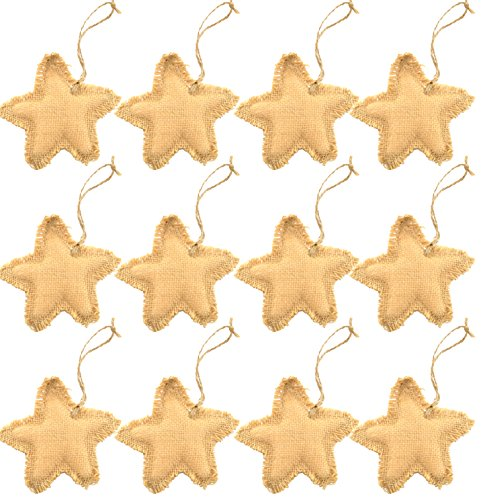 firefly-craft-rustic-burlap-star-ornaments-set-of-12