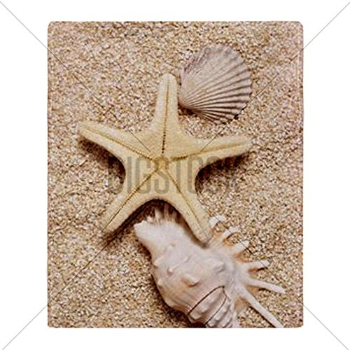 Seashell Throw Blanket front-1038732