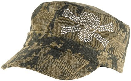 Zan Headgear Women's Highway Honeys Hat - One size fits most/Camo Studded Skull