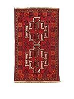 L'EDEN DEL TAPPETO Alfombra Beluchistan Rojo/Multicolor 85 x 139 cm