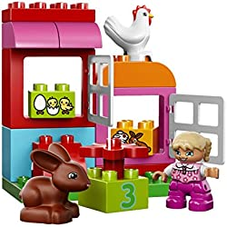LEGO Duplo 65 Piece All-in-One Pink Box of Fun Kids Building Playset | 10571