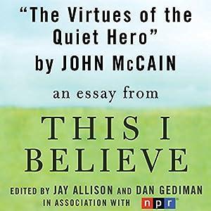 The Virtues of the Quiet Hero Audiobook