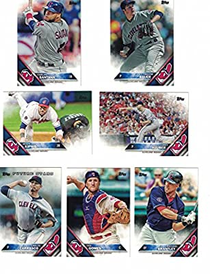 Cleveland Indians / Complete 2016 Topps Series 1 Baseball Team Set. FREE 2015 Topps Indians Team Set WITH PURCHASE!