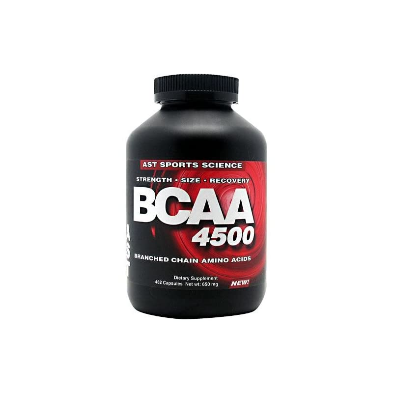Ast Sports Science - Bcaa 4500 - 500 Capsules