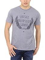 Diesel Camiseta Manga Corta T-Nitare (Gris)