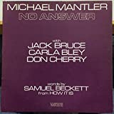 Michael Mantler No Answer vinyl record