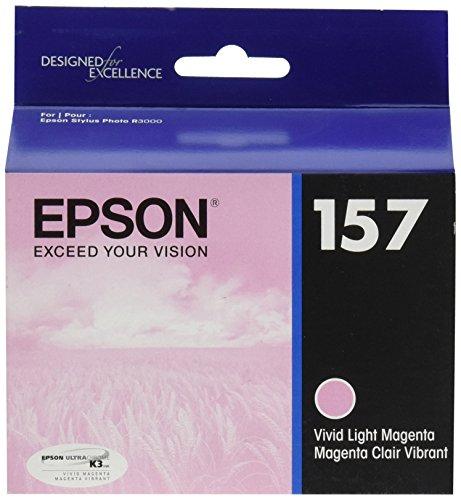 Epson UltraChrome K3 157 Inkjet Cartridge (Vivid Light Magenta) (T157620)