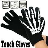 Touch Gloves タッチパネル対応手袋 ボーン・ブラック/ホワイト 0990550