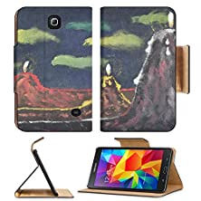 buy Samsung Galaxy Tab 4 7.0 Inch Flip Pu Leather Wallet Case Mountains Volcanoes Candles Picture Oil Paints Hand Draw Painting On Canvas Image 18989516 By Msd Customized Premium