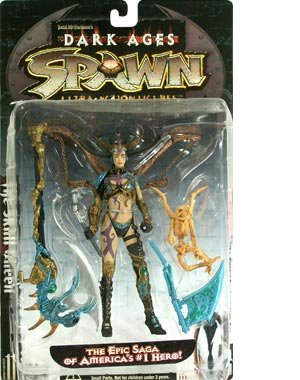 Buy Low Price McFarlane 1998 Spawn Action Figure Series 11 Dark Ages – Skull Queen (B00000JIWD)