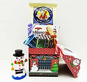 Unlocking Greatness You Are LOVED Christmas Holiday Gift Baskets (Solar Powered Dancing House)