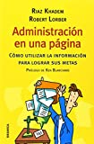 img - for Administraci n en una p gina book / textbook / text book