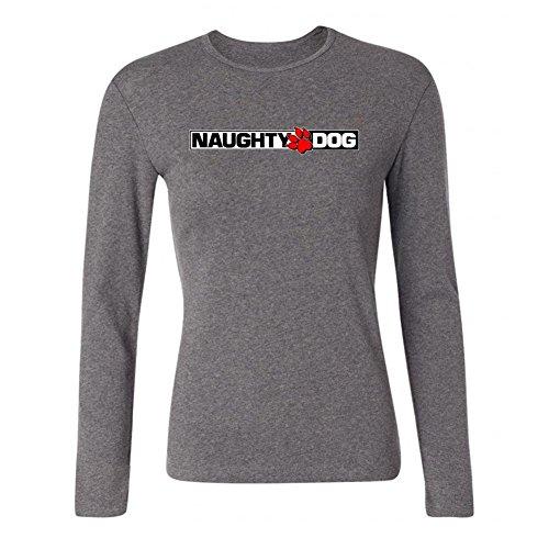 newm-womens-naughty-dog-logo-long-sleeve-100-cotton-t-shirt-grey
